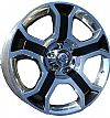 Ford F150 Harley Davidson 6 x 135 22x9 Black Wheel and Center Cap