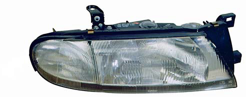 Nissan Altima 93-97 Driver Side Replacement Headlight and Corner Light Combo (with Rectangular Socket)