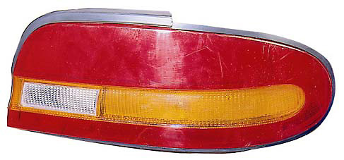 Nissan Altima from March 1993 to 1994 Driver Side Replacement Tail Light