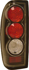 2001 Nissan Frontier  Black Euro Tail Lights