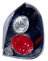 Nissan Altima 2002-05 Black Euro Tail Lights