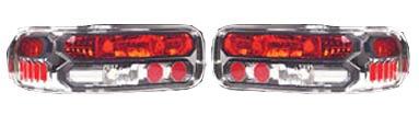 Chevrolet Caprice 91-96 Chrome Euro Tail Lights