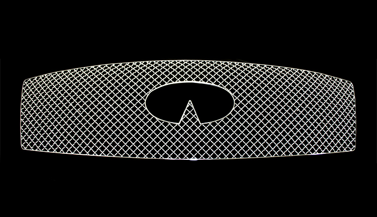 Infiniti M56  2011-2012 Chrome Main Upper X Mesh Grille