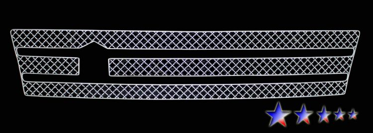 Infiniti G25  2011-2012 Chrome Lower Bumper X Mesh Grille