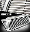 2008 Toyota Tacoma  One Piece Chrome Billet Grill