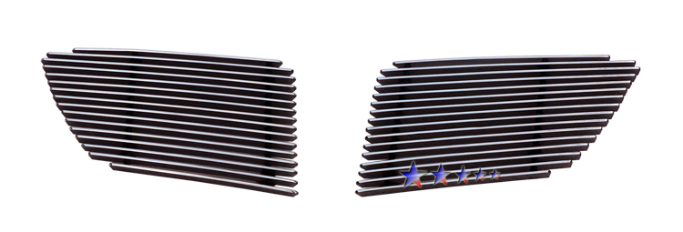 Pontiac G8  2008-2009 Polished Main Upper Aluminum Billet Grille