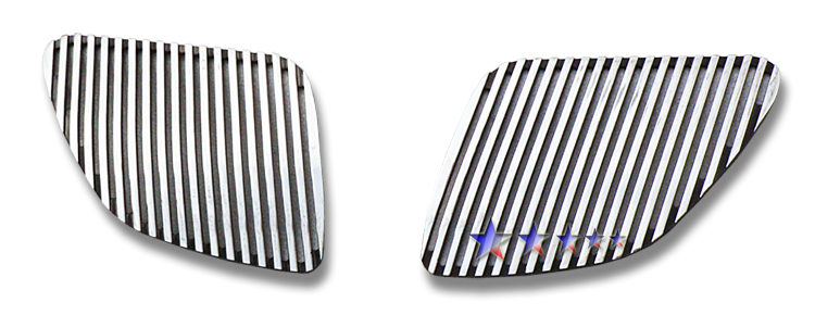 Pontiac G6  2005-2008 Polished Main Upper Perimeter Grille