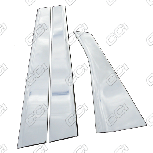 Chevrolet Impala  2006-2013, (6 Piece) Chrome Pillar Covers