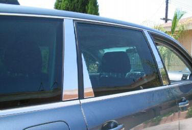 Toyota Highlander  2008-2013, (6 Piece) Chrome Pillar Covers