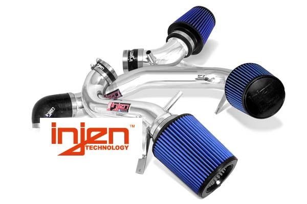 Nissan Titan 2004-2012  5.6l V8 - Injen Power-Flow Air Intake - Polished
