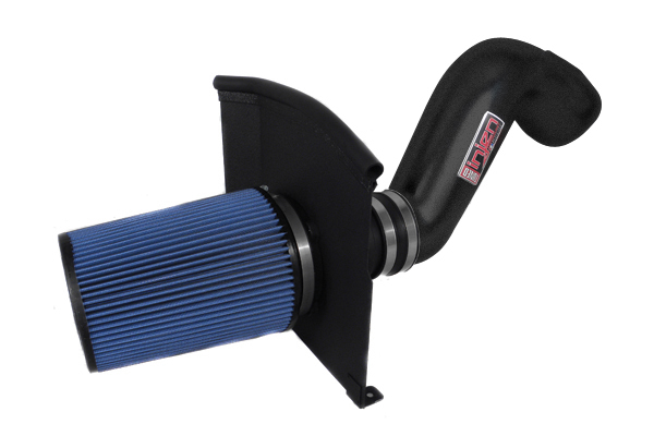 Chevrolet Silverado 1999-2006 1500,2500,3500 4.8l, 5.3l, 6.0l V8 - Injen Power-Flow Air Intake - Wrinkle Black