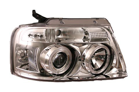 Ford F150 2004-2005 Projector Headlights with Halo