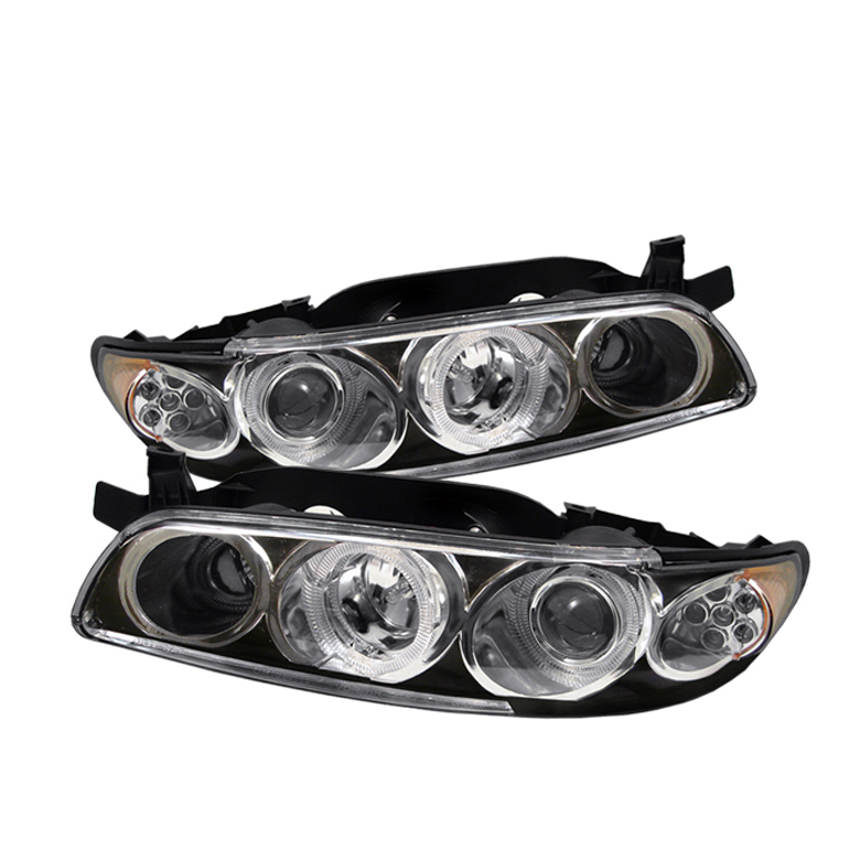 Pontiac  Grand Prix 1997-2003  Black LED 1pc Projector Headlights