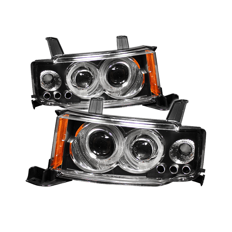 Scion XB 2003-2007  Black Halo Projector Headlights