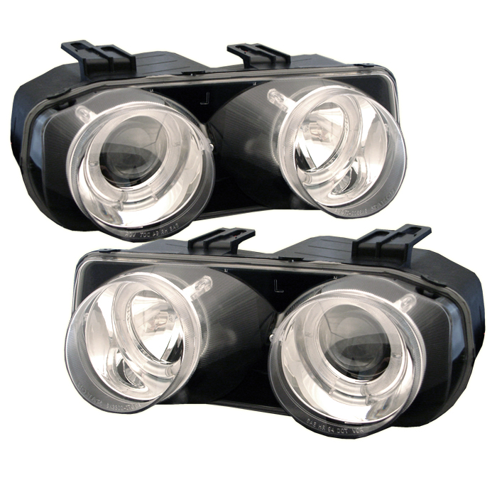 Acura Integra 1998-2001  Chrome  Halo Projector Headlights