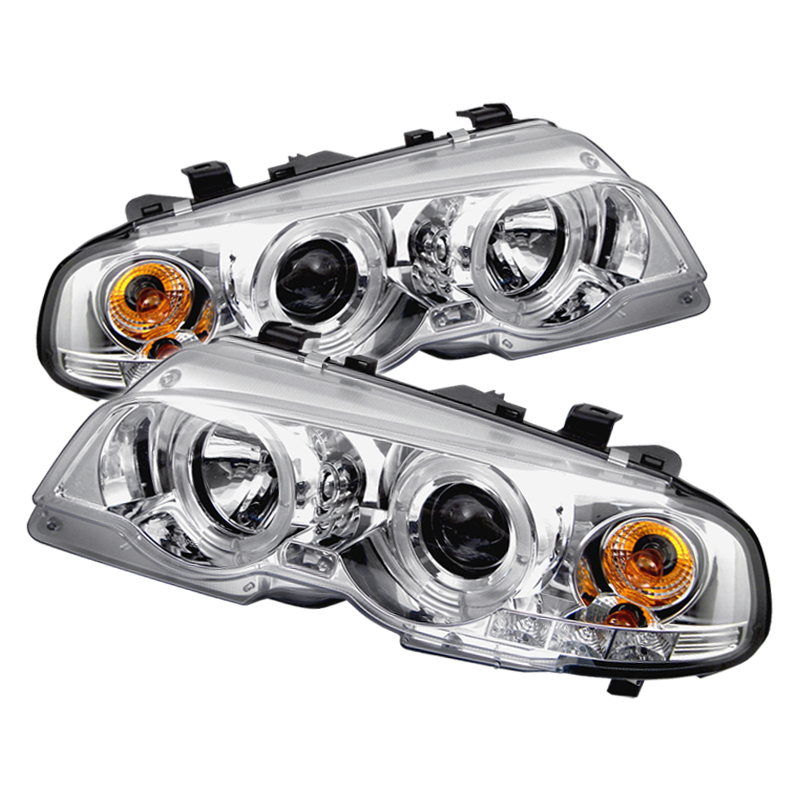 Bmw 3 Series 1991-2001 2DR Chrome Halo Projector Headlights
