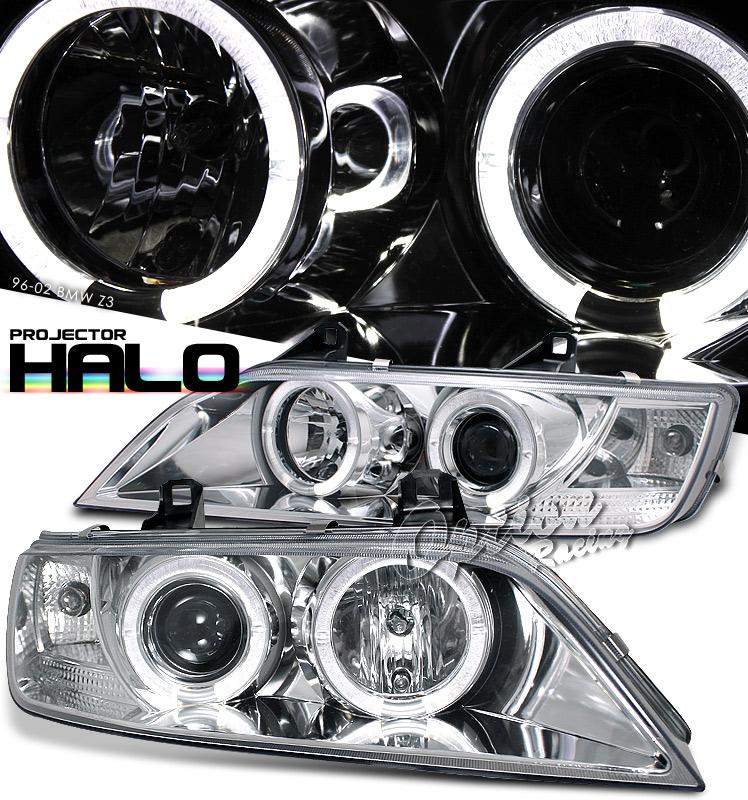Bmw Z3 Battery: Bmw Z3 1996-2002 Chrome W/ Halo Projector Headlights By