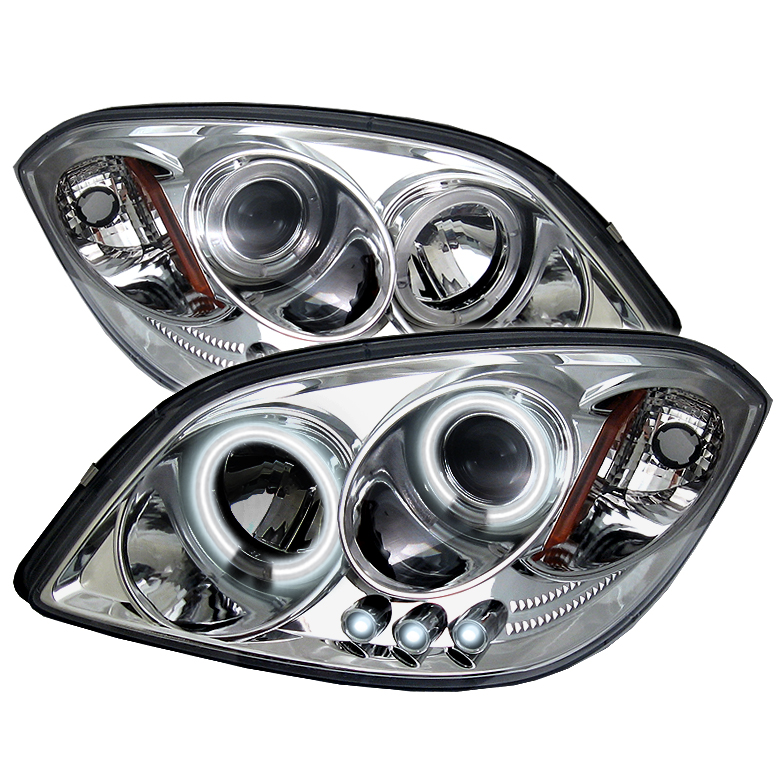 Chevrolet Cobalt 2005-2009  Chrome Ccfl LED Projector Headlights