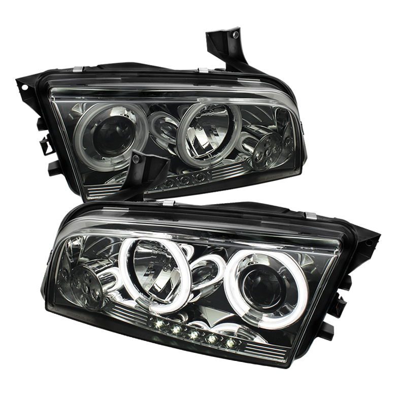 Dodge Charger ( Non Hid ) 2006-2010 Ccfl LED Projector Headlights  -