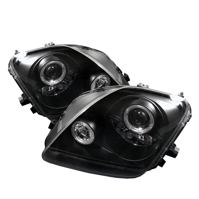 Honda Prelude 1997-2001  Black  Halo Projector Headlights