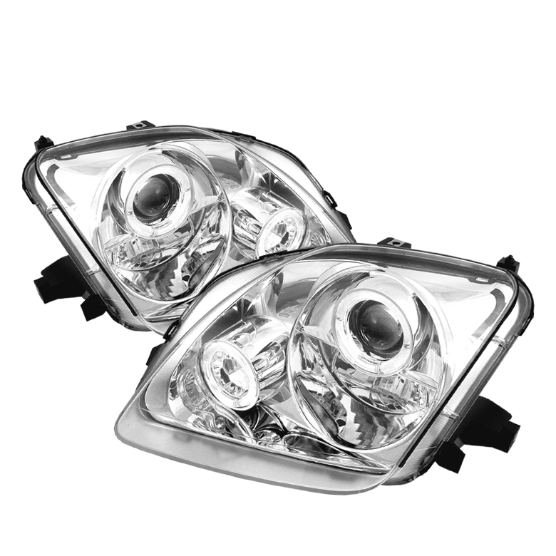 Honda Prelude 1997-2001  Chrome  Halo Projector Headlights