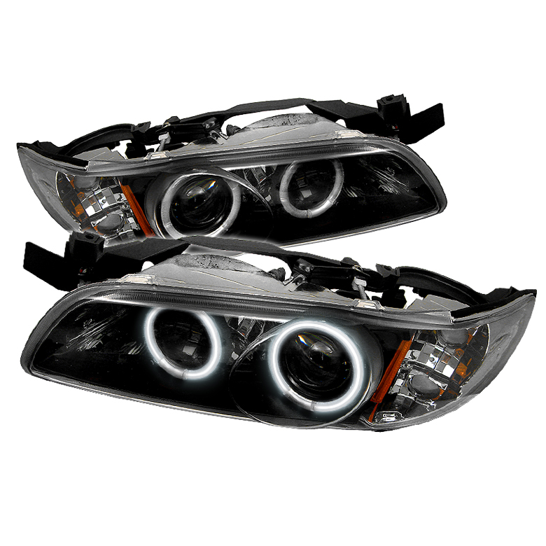 Pontiac Grand Prix 1997-2003  Black 1pc CCFL Projector Headlights
