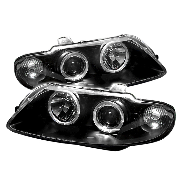 Pontiac Gto 2004-2006  Black Halo LED Projector Headlights