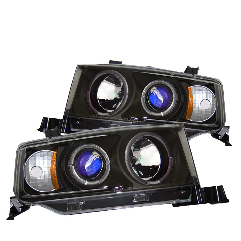 Scion XB  2003-2006 Halo Projector Headlights  - Black