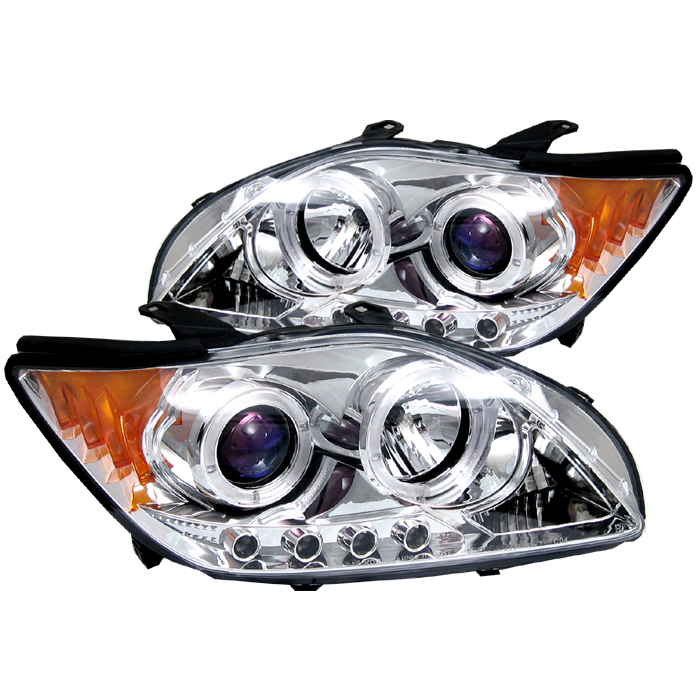 Scion TC 2005-2007  Chrome LED Projector Headlights