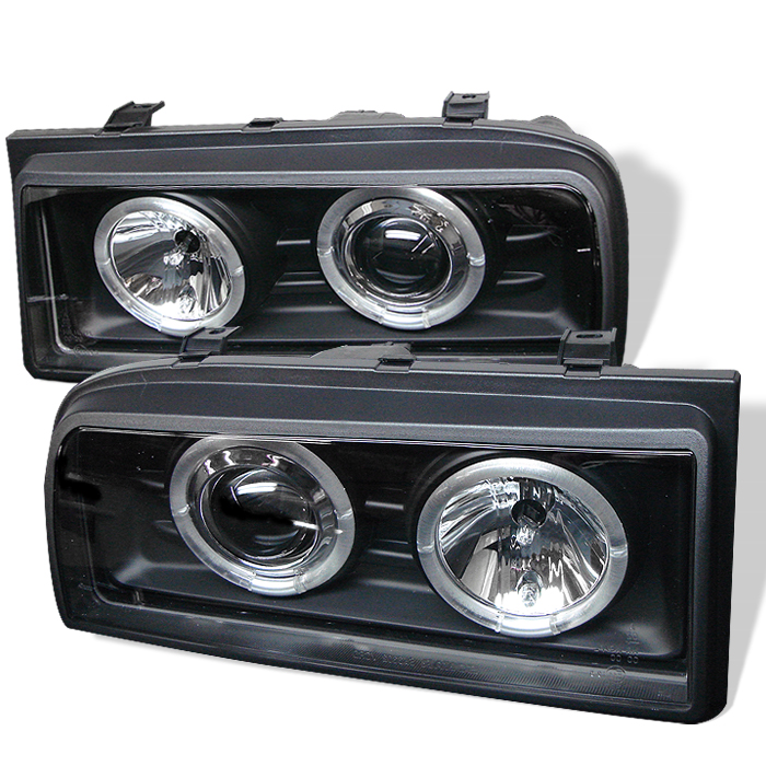 Volkswagen Corrado 1990-1995  Black  Halo Projector Headlights