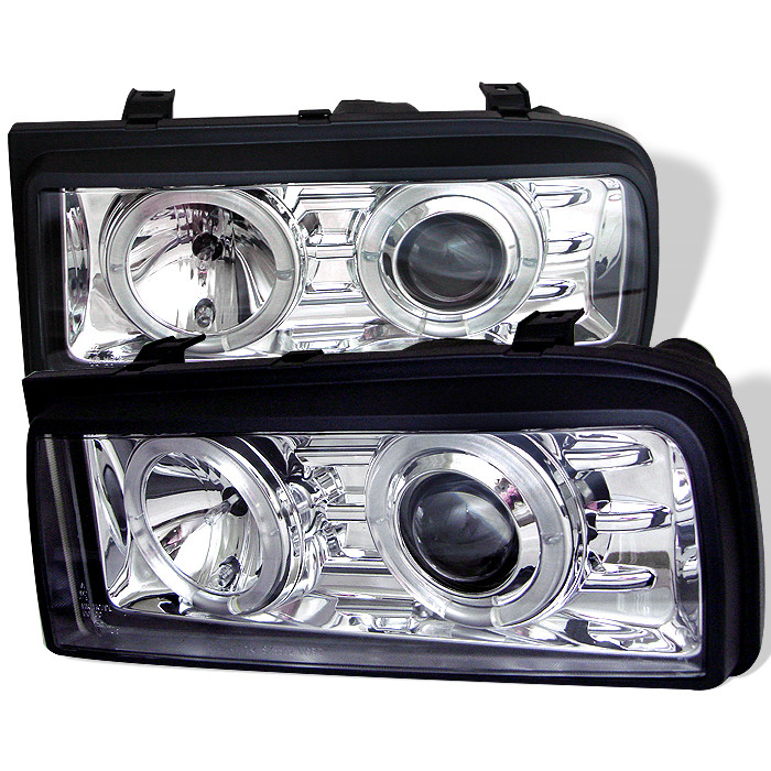 Volkswagen Corrado 1990-1995  Chrome  Halo Projector Headlights