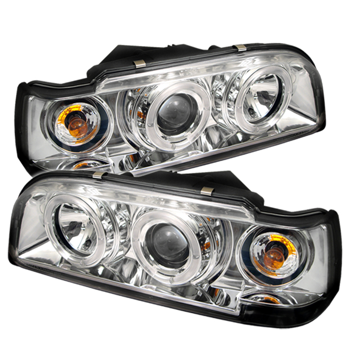 Volvo 850 1993-1997  Chrome Halo Projector Headlights