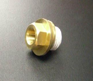 Subaru Oil Galley Plug with 1/8 Inch NPT Threaded Center