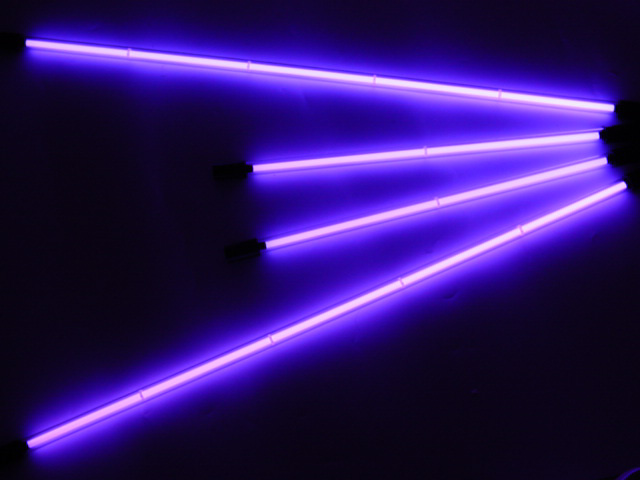 Neon Purple 4 Piece Undercar Kit (Neon Car Lights)