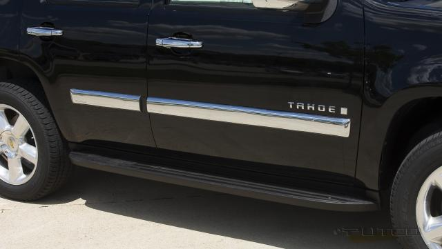 Chevrolet Tahoe 2007-2008 (w/ Factory Side Molding) Chrome Body Side Molding
