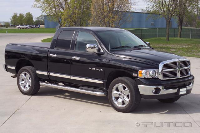 Dodge Ram 150/250/350 Quad Cab 4 Door with 6 Foot Box 2002-2008 Billet Aluminum Body Side Molding