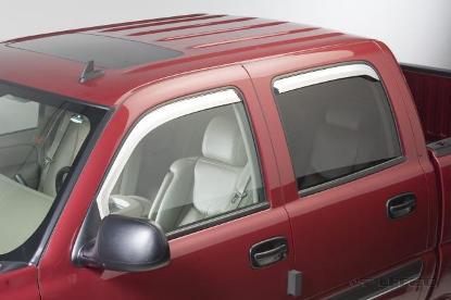 Hyundai Tucson 2005-2007 Chrome Vent Visors