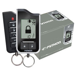 Python 333 Responder - 2 Way Car Alarm and Keyless Entry with LCD Pager