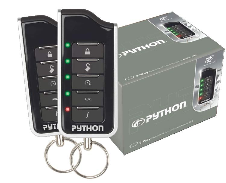 Python 580le 2 Way Remote Car Starter With Keyless Entry