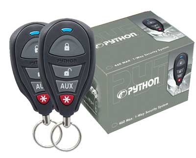 Python 460 Max - Car Alarm with Keyless Entry