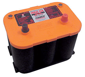 Optima Car Battery 12V, 830CCA Reversed Top Post