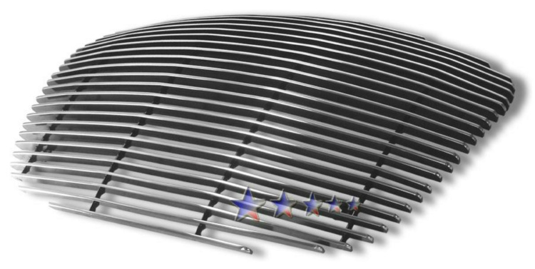 Chrysler Lhs  1999-2001 Polished Main Upper Aluminum Billet Grille