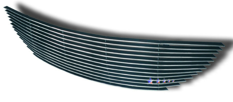 Chrysler Town And Country  2001-2004 Polished Main Upper Aluminum Billet Grille