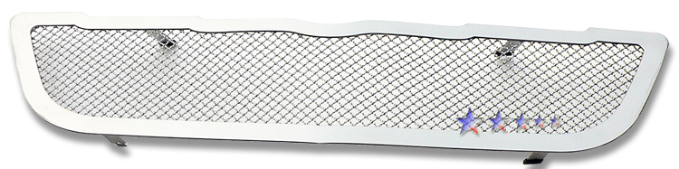 Chrysler Crossfire  2004-2008 Black Powder Coated Main Upper Black Wire Mesh Grille