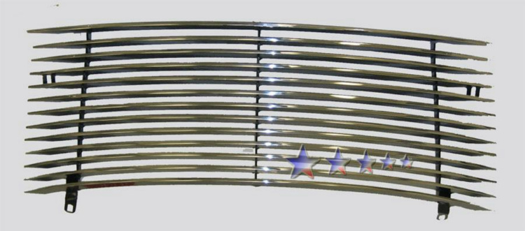 Chrysler PT Cruiser  2000-2005 Polished Main Upper Aluminum Billet Grille