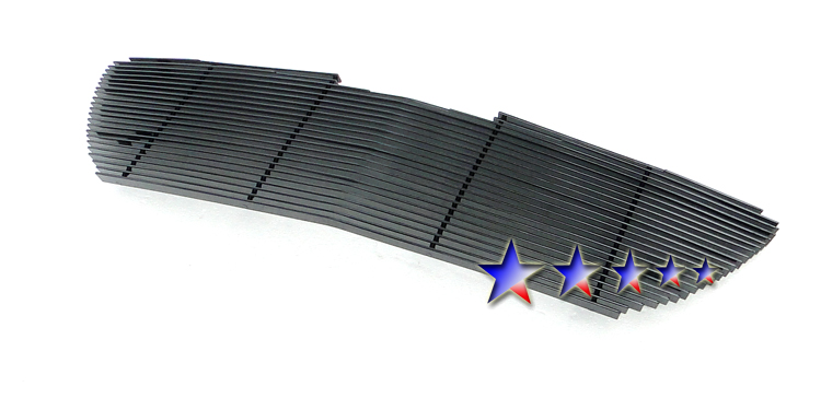 Chrysler Pacifica  2004-2006 Black Powder Coated Main Upper Black Aluminum Billet Grille