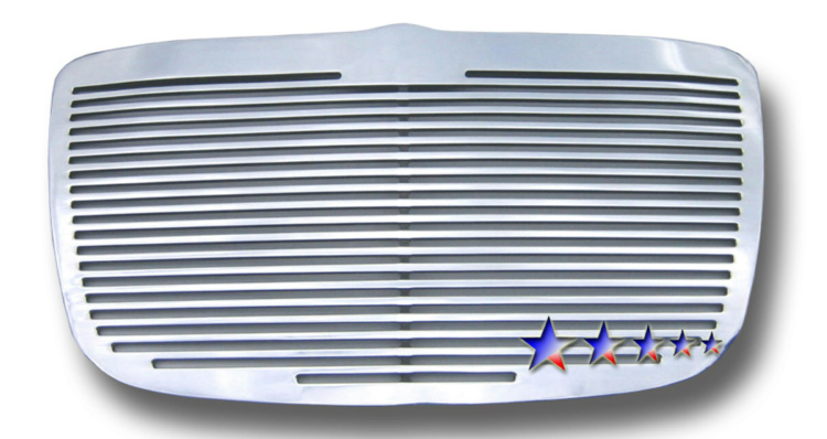 Chrysler 300C  2005-2010 Polished Main Upper Perimeter Grille