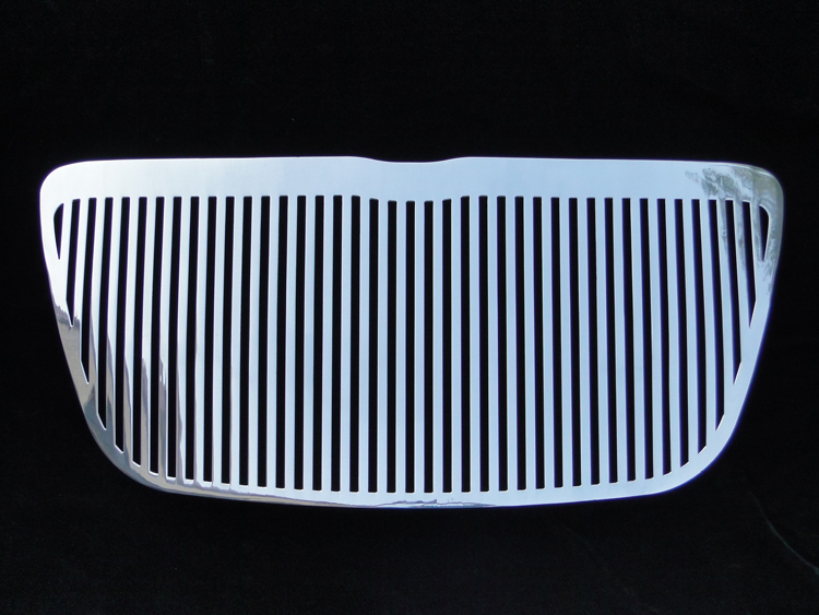 2011-2012 Chrysler 300C 300 Polished Perimeter Grille - Main Upper
