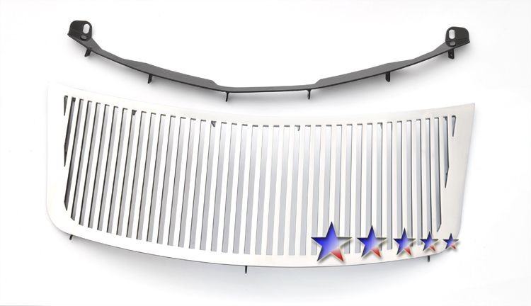 Chrysler PT Cruiser  2006-2010 Polished Main Upper Perimeter Grille
