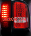 1998 Dodge Ram  - 2001 Red LED Tail Lights
